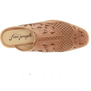 Free People NWOT sold out taupe slip on size 8